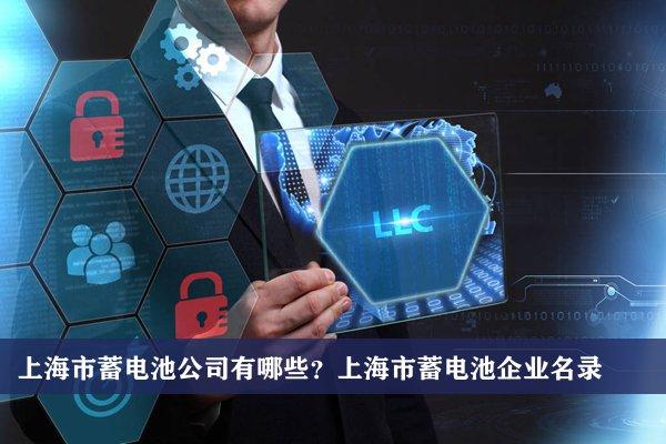 上海市蓄电池公司有哪些?上海蓄电池企业名录
